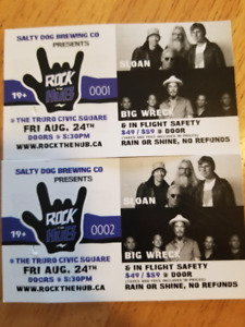 2 Sloan and Big Wreck Tickets - Rock the Hub