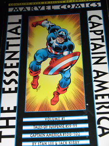 ESSENTIAL CAPTAIN AMERICA VOL. 1-2 MARVEL COMICS