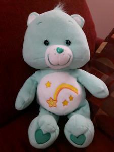 """Large 22"""" Care Bear - Wish Bear"""