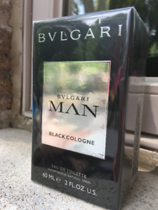 NEW Retail Sealed BVLGARI Man BLACK Cologne EDT 60 ml BVL