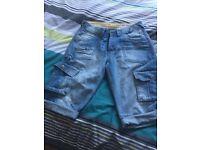 DrunkPunk Denim Shorts