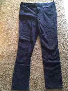 Calvin Klein Dark Purple Patterned Jeans