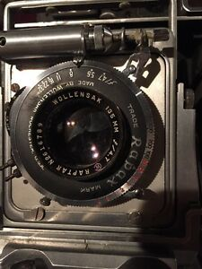 Caméra Bush pressman model D 4x5 kit