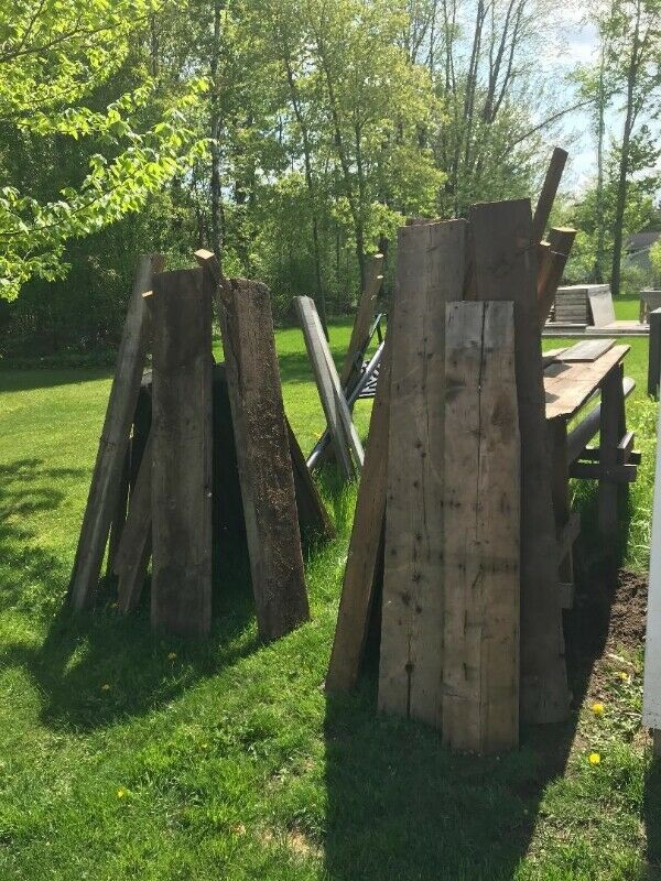 Reclaimed Barn wood from 100yr old barn in the Ottawa area ...