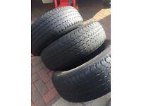 Mitsubishi l200 tyres