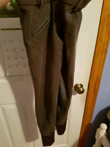 Elation red label gently used breeches