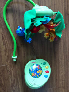 Fisher price musical rainforest mobile