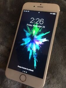 iPhone 6 16 gigs gold unlocked mint condition Windsor Region Ontario image 1