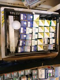 Electrical light bulbs and flourescent tubes