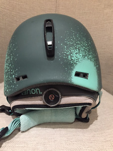 Burton Anon Griffon Helmet Women Green (M) - Used