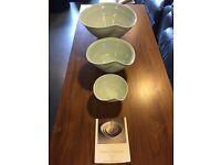 Karen Morgan handmade in Ireland porcelain ceramic bowls
