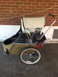 WIKE Double Stroller/Bike Trailer