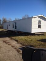 Mobile Home On Wheels Ready to Move