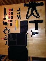 Go Pro Kit with Carrying case!