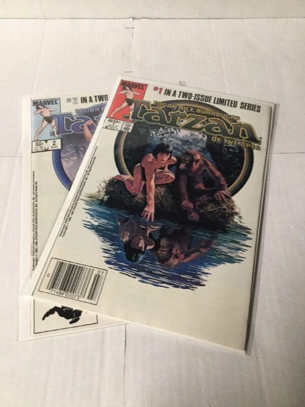 Tarzan Of The Apes 1-2 Vf/Nm