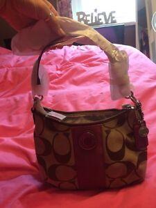 NWT Coach purse/cross body bag