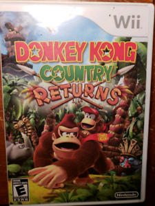 Donkey Kong Wii Game