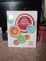 The Basic Practice of Statistics Textbook for Sale (Math 104)