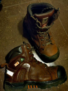 Workload Extreme Men's Safety Work Boots Leather CSA Size 8 9