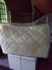 Single Bed Mattress protector slim. clean