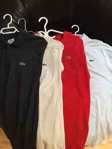 POLOS Lacoste Taille 4