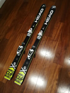 Head World Cup  Rebels I.Race Team racing skis 140cm with NX7