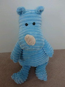 Blue Rhino Plush Toy by Jellycat