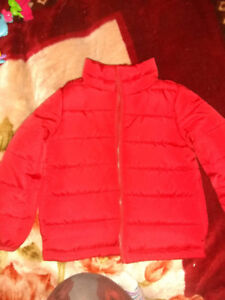 Toddlers red winter jacket brand new 20$