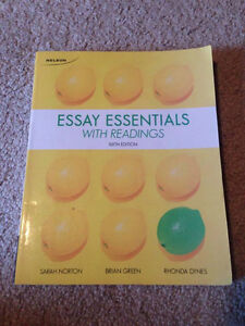 Essay Essentials with Readings Edition 6