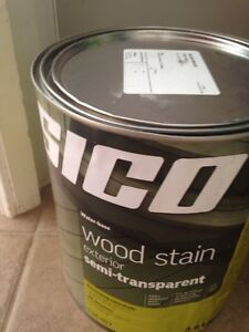 Sico exterior wood stain - colour Island Breeze