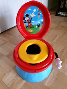 Petite toilette Mickey Mouse