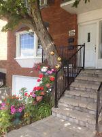 5-1/2 upper duplex for rent TMR *NEW REDUCED PRICE!