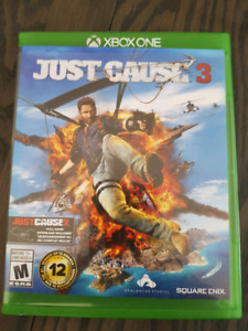 Jeu just cause 3 pour Xbox one