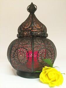 Orientalische Indische Orient Laterne Eisenlaterne Windlicht Laternen aus Indien