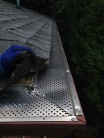 Gutter Guards/Screens Installation - Get Cleaning Free!!