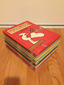 Lot of 12 Charlie Brown Cyclopedia Hardcover 1-12 books Sale