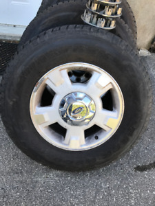 Ford F150 Tires and Rims P265/70R17