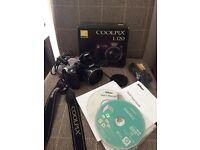 Nikon coolpix L120 digital camera