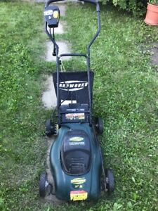 Excellent Condition Compact Electric Lawnmower for Sale