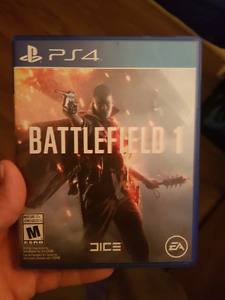PS4 Battlefield 1 and Uncharted 4  for Trade