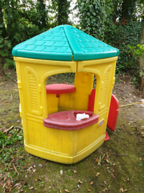 Wendy Play House. Children's plastic play house from little tiker in u