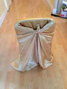 Universal Fit GOLD Chair Covers - $2 EACH Kitchener / Waterloo Kitchener Area image 3