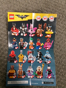 Lego The Batman Movie Minififigures