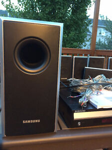 Samsung Home Theater System 5 disc dvd & cd player- complete