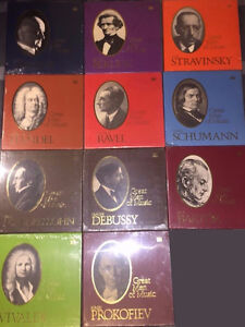 Vinyl Box sets Classical - Men of Music and other collections