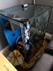 300l aqauraium all pumps lights filters etc no stand