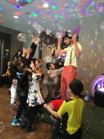 Kids party hosts needed  up to 60$/hour
