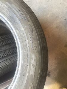 4 Michelin pilot 225/55/16 all season 80% tread  Kitchener / Waterloo Kitchener Area image 4