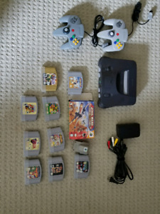 N64 Games and consoles