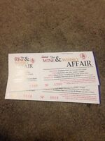 Wine and Whisky Affair tickets!